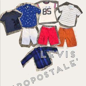 Other - Size 6 bundle Tommy Aeropostale Levi's
